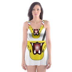 Coat of Arms of The Democratic Republic of The Congo Skater Dress Swimsuit