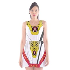 Coat of Arms of The Democratic Republic of The Congo Scoop Neck Skater Dress