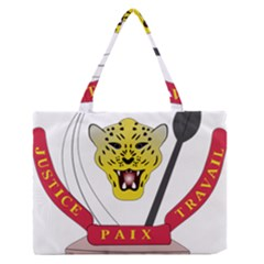 Coat of Arms of The Democratic Republic of The Congo Medium Zipper Tote Bag
