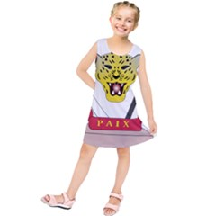 Coat of Arms of The Democratic Republic of The Congo Kids  Tunic Dress
