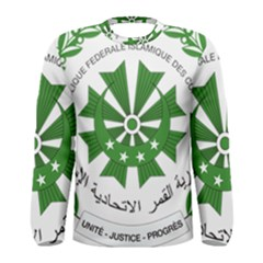 National Seal of the Comoros Men s Long Sleeve Tee