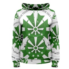 National Seal of the Comoros Women s Pullover Hoodie