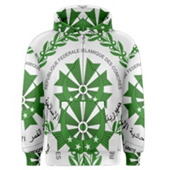 National Seal of the Comoros Men s Zipper Hoodie