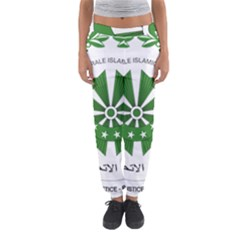 National Seal of the Comoros Women s Jogger Sweatpants