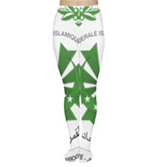 National Seal of the Comoros Women s Tights