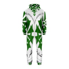 National Seal of the Comoros Hooded Jumpsuit (Kids)