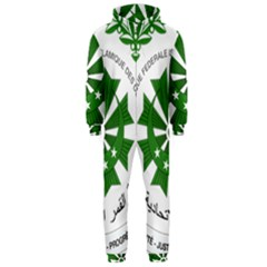 National Seal of the Comoros Hooded Jumpsuit (Men)