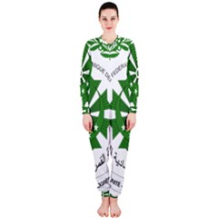National Seal of the Comoros OnePiece Jumpsuit (Ladies)
