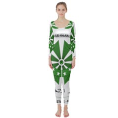 National Seal of the Comoros Long Sleeve Catsuit