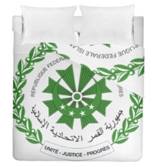National Seal of the Comoros Duvet Cover Double Side (Queen Size)