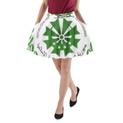 National Seal of the Comoros A-Line Pocket Skirt