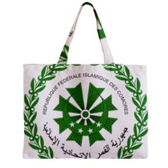 National Seal of the Comoros Medium Zipper Tote Bag