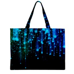 Abstract Stars Falling  Mini Tote Bag