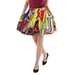 DEUX POUR UNE PARTAGE A-Line Pocket Skirt