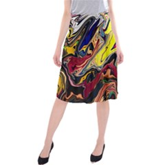 Splash Midi Beach Skirt