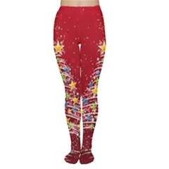 Colorful Christmas Tree Women s Tights