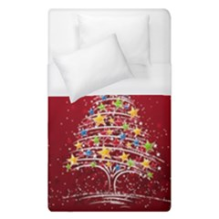 Colorful Christmas Tree Duvet Cover (Single Size)