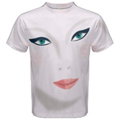 Face Beauty Woman Young Skin Men s Cotton Tee