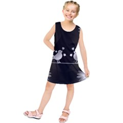 Daisy Bird Twitter News Gossip Kids  Tunic Dress