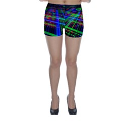 Electronics Board Computer Trace Skinny Shorts