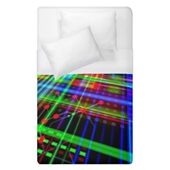 Electronics Board Computer Trace Duvet Cover (Single Size)