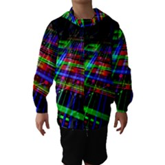 Electronics Board Computer Trace Hooded Wind Breaker (Kids)