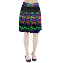 Electronics Board Computer Trace Pleated Skirt