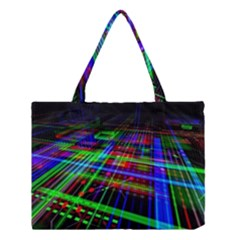 Electronics Board Computer Trace Medium Tote Bag