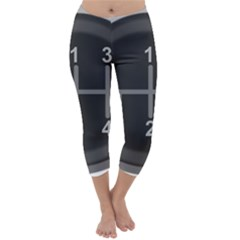Gearshift Gear Stick Gear Engine Capri Winter Leggings