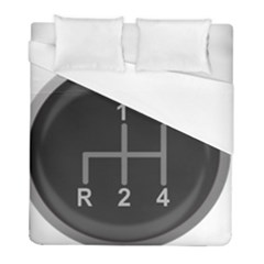 Gearshift Gear Stick Gear Engine Duvet Cover (Full/ Double Size)