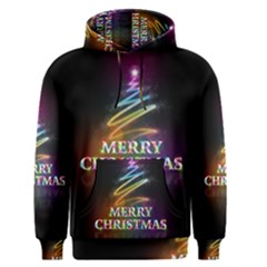 Merry Christmas Abstract Men s Pullover Hoodie