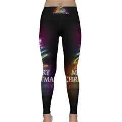Merry Christmas Abstract Classic Yoga Leggings