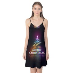 Merry Christmas Abstract Camis Nightgown