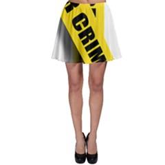 Internet Crime Cyber Criminal Skater Skirt