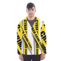 Internet Crime Cyber Criminal Hooded Wind Breaker (Men)