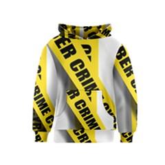 Internet Crime Cyber Criminal Kids  Pullover Hoodie