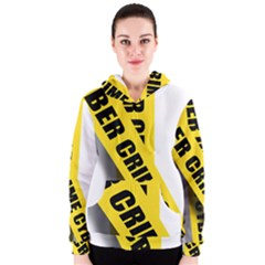 Internet Crime Cyber Criminal Women s Zipper Hoodie