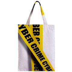 Internet Crime Cyber Criminal Zipper Classic Tote Bag