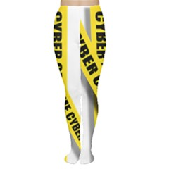 Internet Crime Cyber Criminal Women s Tights