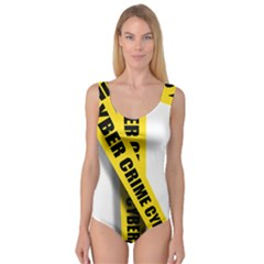 Internet Crime Cyber Criminal Princess Tank Leotard