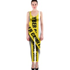 Internet Crime Cyber Criminal OnePiece Catsuit
