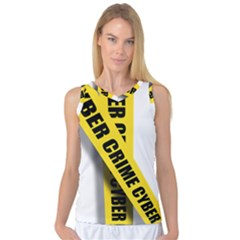 Internet Crime Cyber Criminal Women s Basketball Tank Top