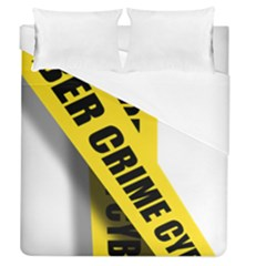 Internet Crime Cyber Criminal Duvet Cover (Queen Size)