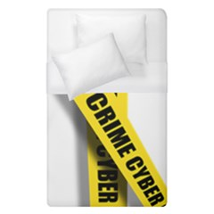 Internet Crime Cyber Criminal Duvet Cover (Single Size)