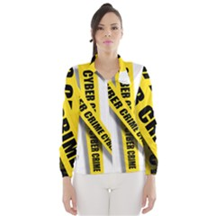 Internet Crime Cyber Criminal Wind Breaker (Women)