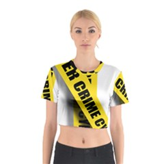 Internet Crime Cyber Criminal Cotton Crop Top