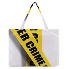 Internet Crime Cyber Criminal Medium Zipper Tote Bag