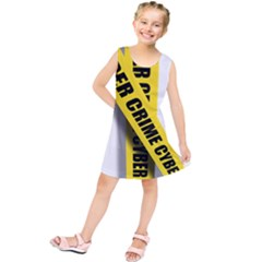 Internet Crime Cyber Criminal Kids  Tunic Dress