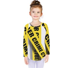 Internet Crime Cyber Criminal Kids  Long Sleeve Tee