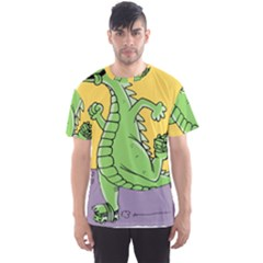 Godzilla Dragon Running Skating Men s Sport Mesh Tee
